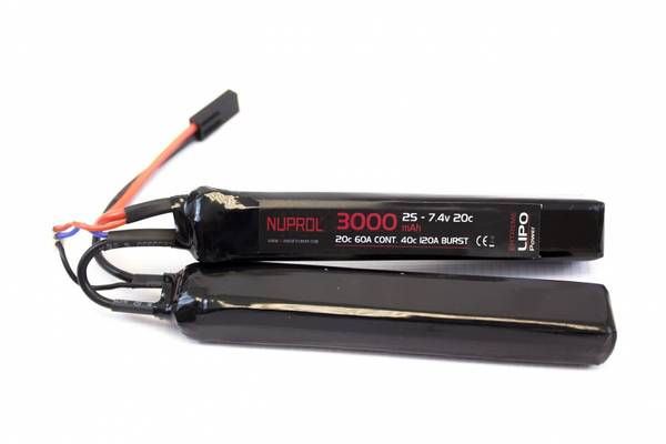 Bilde av Batteri Li-Po 7.4V - 3000mAh - Cranestock