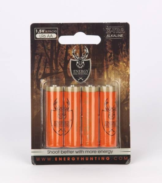 Bilde av Energy Hunting - AA Batteri - 4stk