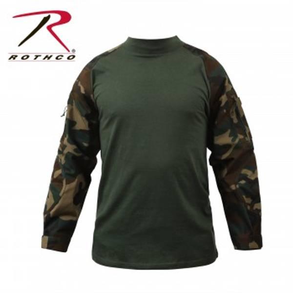 Bilde av Combat Shirt Woodland Camo