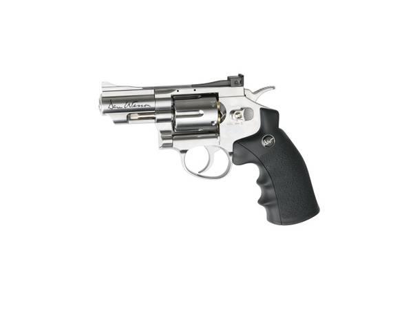 Bilde av Dan Wesson Revolver 2.5 Sølv - 4.5mm Pellets