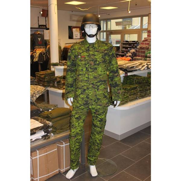 Bilde av GO! Rip-Stop Militær Bukse - Canadisk Camo