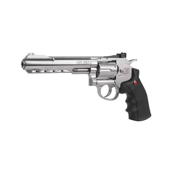 Bilde av Crosman 357 Magnum 4.5mm BB Luftpistol - Sølv