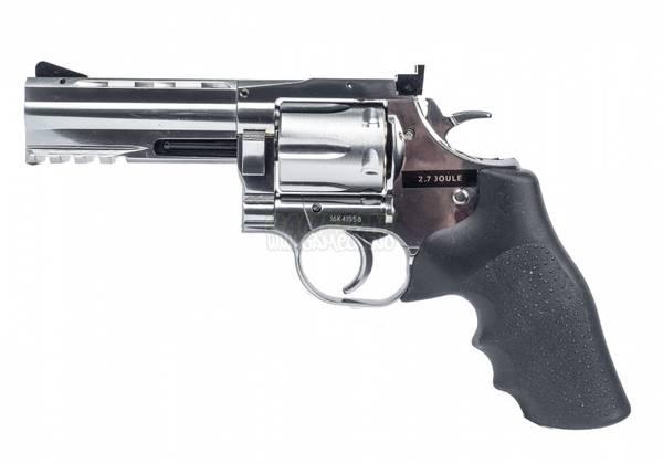 Bilde av Dan Wesson 715 4inch Revolver - Sølv - 4.5mm