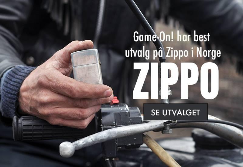 Original Zippo! Alt du trenger til Zippo, zippo lighter, bensin, flint og wick!